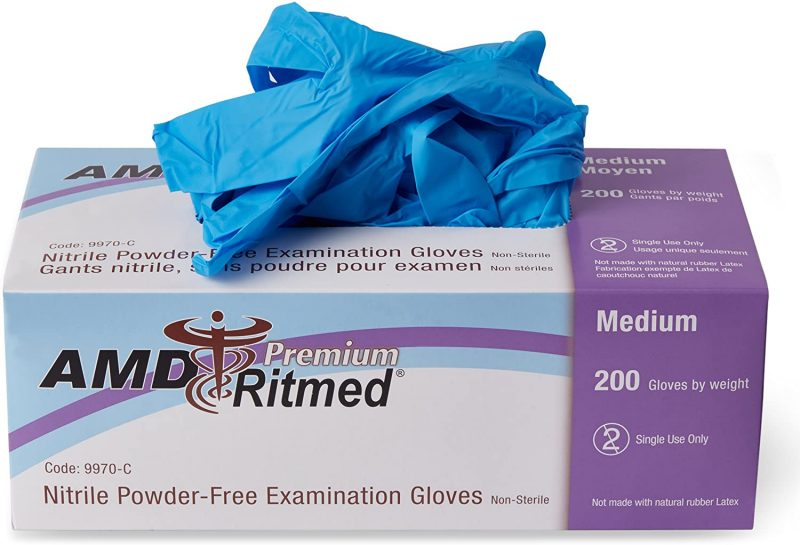 Nitrile Gloves - Blue (Box of 200)