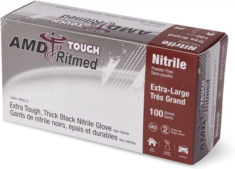 Nitrile Gloves - Extra Tough - Black