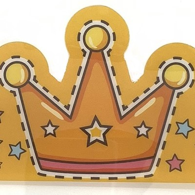 Crown Shield - (26cm x 18.5cm)